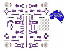 Aluminium conversion kit ULTIMATE version Purple for HPI E10 1:10 RC Version 3