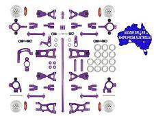 Aluminium conversion kit ULTIMATE version Purple for HPI E10 1:10 RC Version 3