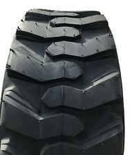 New Tire 10 16.5 K9 Skid Steer R4 10 Ply TL Bobcat 10x16.5 10-16.5 Farm Stock FS
