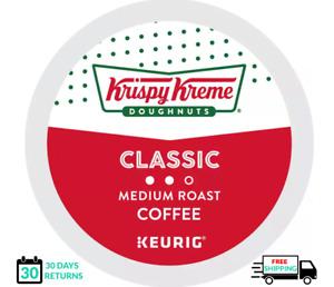 Krispy Kreme Classic Keurig Coffee K-cups YOU PICK THE SIZE
