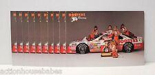 LOT OF 10 HOOTERS FORD THUNDERBIRD RACING TEAM 1993 NASCAR ALAN KULWICKI CARD