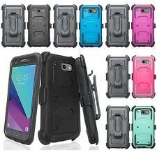 For Samsung Galaxy S8 Plus Tri-Guard Case + Belt Clip Holster Full Cover Protect