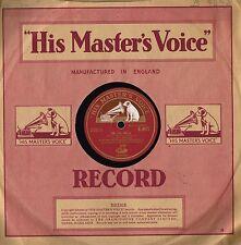 """BOSTON PROMENADE ORCH Tik Tak Polka/Sans Souci 10"""" 78RPM HMV UK B.9478 Excl-n/m"""