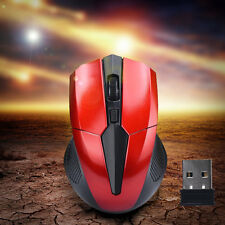Wireless Optisch Funkmaus Gaming Mouse USB Receiver 2000DPI for Laptop Computer