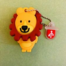 1 New Cute Novelty Lion, 16GB USB Flash Drive Memory Stick