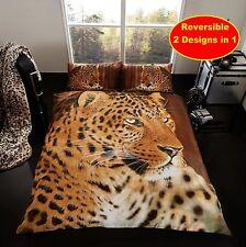 Leopardo Animal Juego De Edredón King Gaveno Cavailia Diseño Dormitorio Colcha Cama