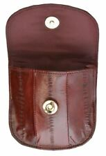 EEL Skin Leather Ladies Mini Wallet #E505
