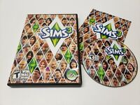 The Sims 3 (PC, 2009) Game Complete w/ Manual DVD-ROM Windows/Mac TESTED