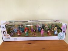 New Disney Store Animator Collection Mega Figurine Set Princess Cake Topper