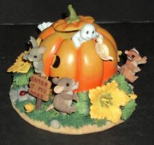Charming Tails By Fitz And Floyd Figure Happy Halloween With Box