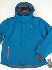 Men's SPYDER Ski Jacket Blue Color Size L - BNWT  71D66012-40