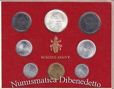 Citta del Vaticano - Serie Divisionali Zecca Paolo VI dal 1963 al 1978 FDC / UNC