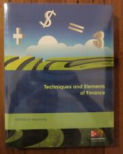 Techniques and Elements of Finance Textbook Henry Leung Mcgraw Hill New & Sealed