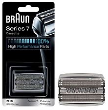 BRAUN 70S SHAVER REPLACEMENT FOIL CASSETTE SERIES 7 PULSONIC 9000 - SILVER