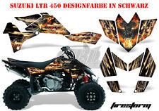AMR RACING DEKOR GRAPHIC KIT ATV SUZUKI LTR 450 LT-R FIRESTORM B