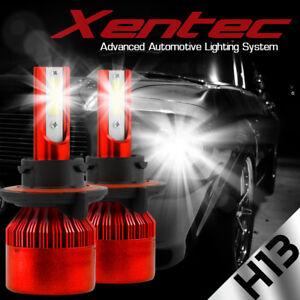 CREE H13 9008 200W 20000LM LED Headlight Kit Hi-Low Beam Light Bulbs White 6500K