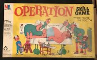 Vintage 1965 Operation Board Game With Rare Smoking Doctor