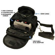 TWITFISH Travel & Storage Bag for Nintendo NES MINI CLASSIC EDITION 2016 - BLACK