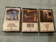 Lot of 3 BILLY JOEL Cassette Tapes ~ Songs in the Attic, Glass Houses, 52nd St