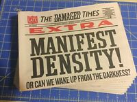 The Damaged Times - by Obey Giant Henry Rollins Naomi Klein Juxtapoz news paper