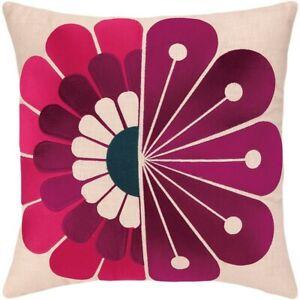 "Trina Turk Windsor Pillow - 20"" x 20"" Pink, Purple, Blue, Beige"