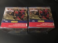 Marvel Spiderman Panini Stickers Box 2014 (50 Pack Box) Sealed - 2 Box Lot
