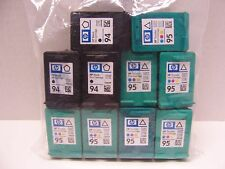 Genuine HP 94 95 Empty Ink Cartridges (3) 94 & (7) 95 Never Been Filled