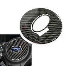 For Subaru Forester Carbon Steering Wheel Trim Decal Button Sticker 2014-2018