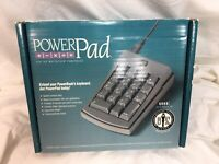 Powerpad for Macintosh Mac Numeric Keyboard + box 1014042 Sophisticated Circuits