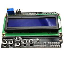 LCD1602 LCD Keypad Shield Board Blue Backlight for Arduino Duemilanove Robot