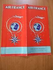 AIR FRANCE orario Italia dicembre 1955