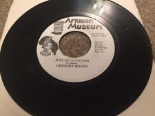 "Gregory Isaacs - Just Infatuation - African Museum Reggae 45 Single 7"" Ex"
