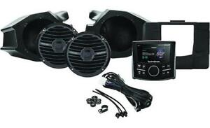 ROCKFORD FOSGATE RZR-STAGE2 STEREO AND FRONT SPEAKER KIT FOR SELECT RAZOR MODELS