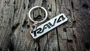 Toyota RAV4 keychain RAV-4 keyring fob tag Metal Stainless schlüsselanhänger RAV