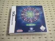 Wer wird Millionär 1. Edition für Nintendo DS, DS Lite, DSi XL, 3DS
