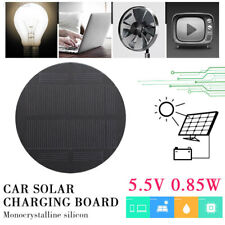 2D6B Solar Charger Panel Durable 0.85W 5.5V Monocrystalline Silicon
