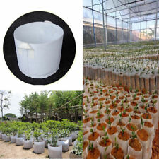 Round Fabric Pots Plant Pouch Root Container Grow Bag Aeration Container 5 SIZE
