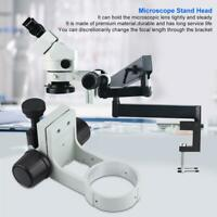 50mm/1.97in Stereo Microscope Bracket Diameter 76mm Focusing Bracket with Tail