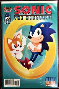 SONIC The HEDGEHOG Comic Book #288 Variant October 2017 First Edit Bagged MINT