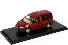 VERY RARE VW CADDY 2K TDI LIFE 2004 RED SPICE METALLIC 1:43 NEO (DEALER MODEL)
