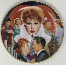 I Love Lucy Plate