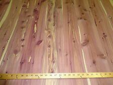 """Aromatic Cedar wood veneer in 48"""" x 96"""" sheets on paper backer 1/40th"""" """"A"""" grade"""