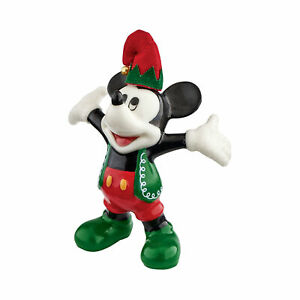 Disney Santa's Aide Mickey Par Design Département 56 Figurine Neuf avec Boîte