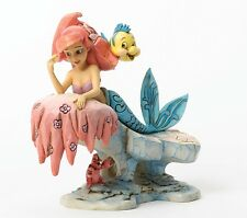 Disney Traditions Little Mermaid Ariel Dreaming Under The Sea Resin Figurine