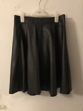 Faux leather skirt (small)