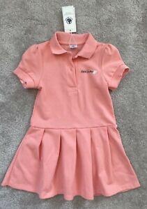 Petit Bateau Girls Polo Dress - Size 5 years