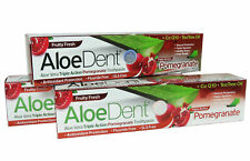 AloeDent Triple Action Pomegranate Toohpaste 100ml (Pack of 3)