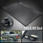 TRI-FOLD HARD TONNEAU COVER 6.4FT BED FIT FOR 02-21 DODGE RAM 1500 2500 3500