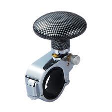 Metal Effect Look Car Van Steering Wheel Knob Handle Help Spinner Turning Ball