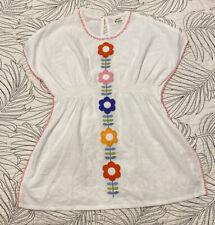 Girls MINI BODEN Swim/Beach Cover Dress - Sz 4/5 GUC Floral